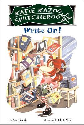 Write On! #17 (Katie Kazoo, Switcheroo #17) Cover Image
