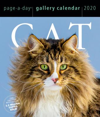 Cat Page-A-Day Gallery Calendar 2020 Cover Image