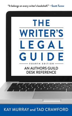 Cover for The Writer's Legal Guide, Fourth Edition