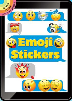 Emoji Stickers (Dover Little Activity Books Stickers) Cover Image
