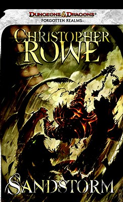 Sandstorm: A Forgotten Realms Novel (Forgotten Realms) Cover
