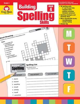 Building Spelling Skills Grade 4 Cover Image