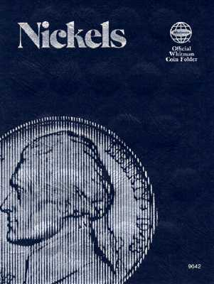 Coin Folders Nickels: Plain (Official Whitman Coin Folder) Cover Image