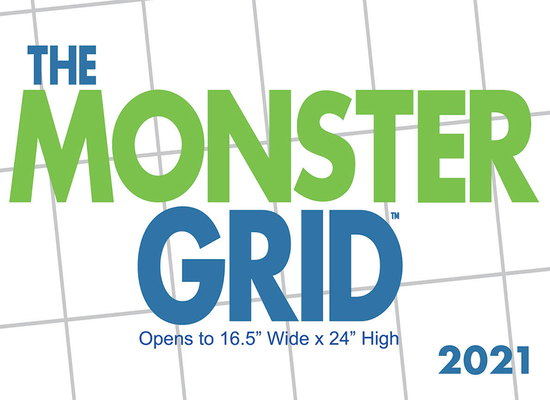Cal 2021- Monster Grid Wall Cover Image