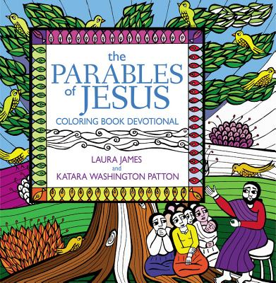 Cover for The Parables of Jesus Coloring Book Devotional