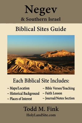 Negev & Southern Israel Biblical Sites Guide Cover Image
