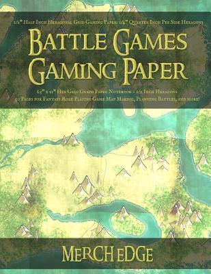 Battle Games Gaming Paper: 1/2