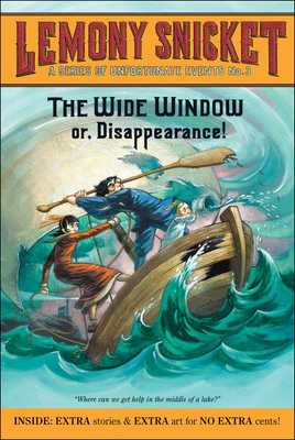 Wide Window or Disappearance - (Series of Unfortunate Events #3) Cover Image