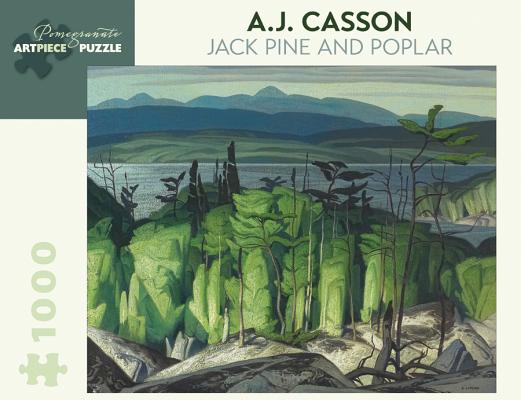 A.J. Casson: Jack Pine and Poplar 1,000-Piece Jigsaw Puzzle Cover Image