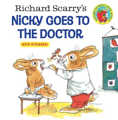 Richard Scarry's Nicky Goes to the Doctor (Pictureback(R)) Cover Image