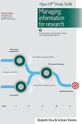 Managing Information for Research: Practical Help in Researching, Writing and Designing Dissertations (Open Up Study Skills) Cover Image