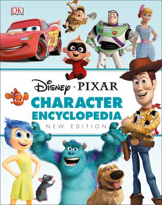 Disney Pixar Character Encyclopedia New Edition Cover Image