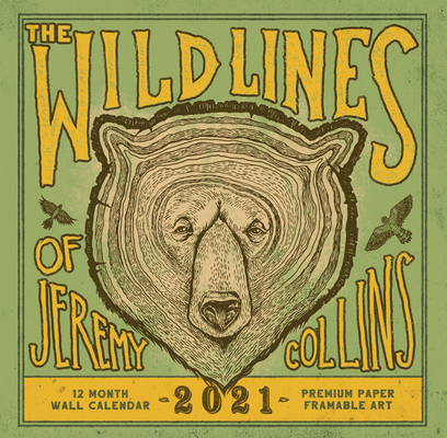 The Wild Lines of Jeremy Collins: 2021 Wall Calendar Cover Image