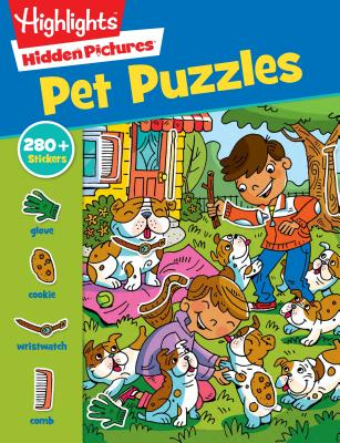 Pet Puzzles (Highlights Sticker Hidden Pictures) Cover Image