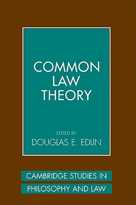 Common Law Theory (Cambridge Studies in Philosophy and Law) Cover Image