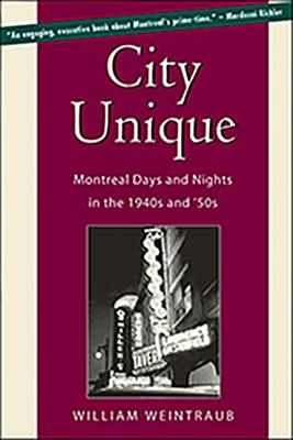 Cover for City Unique