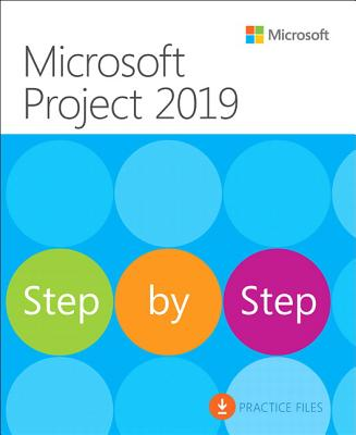 Microsoft Project 2019 Step by Step Cover Image