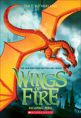 Escaping Peril (Wings of Fire #8) Cover Image