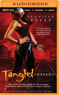 Tangled Threads (Elemental Assassin #4) Cover Image
