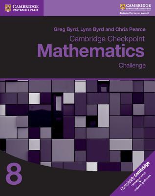 Cambridge Checkpoint Mathematics Challenge Workbook 8 Cover Image
