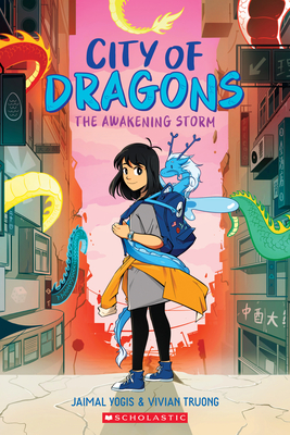 The Awakening Storm: A Graphic Novel (City of Dragons #1) Cover Image