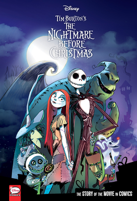 Disney The Nightmare Before Christmas: The Story of the Movie in Comics Cover Image