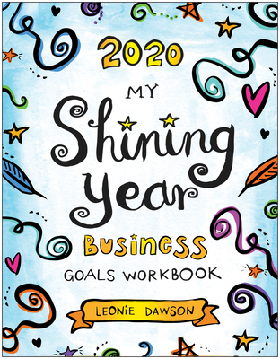 Cover for 2020 My Shining Year Business Goals Workbook
