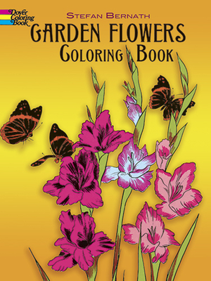 Garden Flowers Coloring Book (Dover Nature Coloring Book) Cover Image