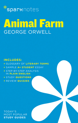 Animal Farm Sparknotes Literature Guide, 16 Cover Image