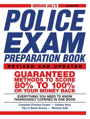 Norman Hall's Police Exam Preparation Book Cover Image