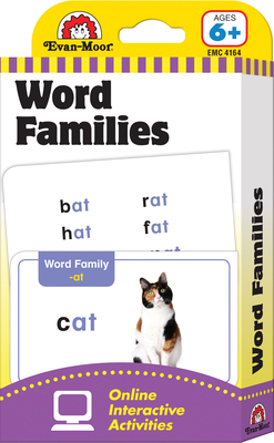 Flashcards: Word Families (Flashcards: Language Arts) Cover Image