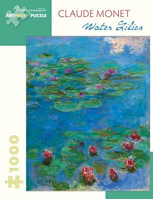 Claude Monet Water Lilies 1000-Piece Jigsaw Puzzle Cover Image