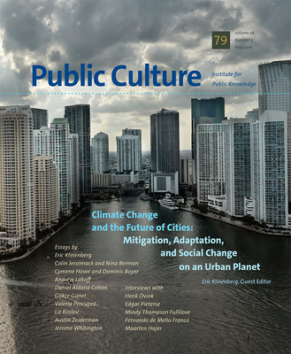 Climate Change and the Future of Cities Cover Image