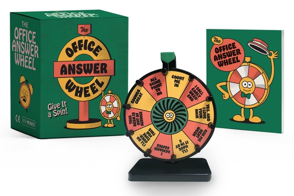 The Office Answer Wheel: Give It a Spin! (RP Minis) Cover Image