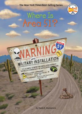 Where Is Area 51? (Where Is?) Cover Image