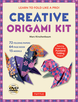 Creative Origami Kit: Learn to Fold Like a Pro!: Instructional DVD, 64-Page Origami Book, 72 Origami Papers: Original Easy Origami for Kids Cover Image