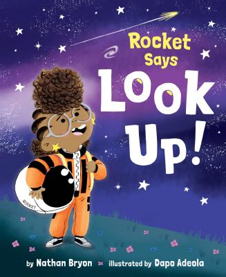 Rocket Says Look Up! Cover Image