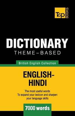 Theme-based dictionary British English-Hindi - 7000 words Cover Image