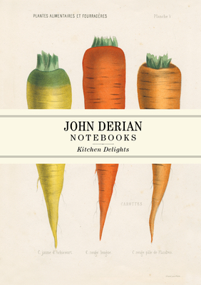 John Derian Paper Goods: Kitchen Delights Notebooks Cover Image