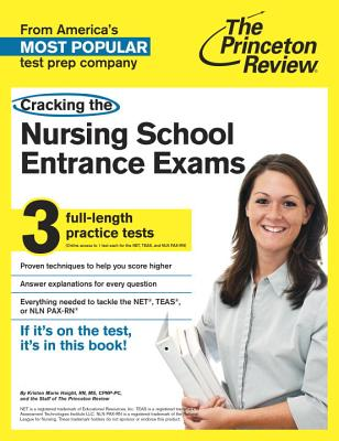 Cracking the Nursing School Entrance Exams Cover
