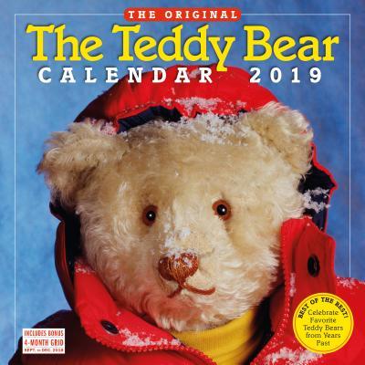 The Teddy Bear Wall Calendar 2019 Cover Image