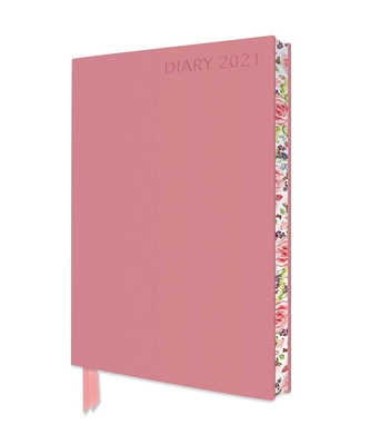 Baby Pink Artisan A5 Diary 2021 Cover Image