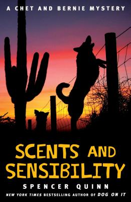 Scents and Sensibility: A Chet and Bernie Mystery (The Chet and Bernie Mystery Series #8) Cover Image