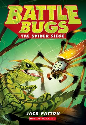 Cover for The Spider Siege (Battle Bugs #2)
