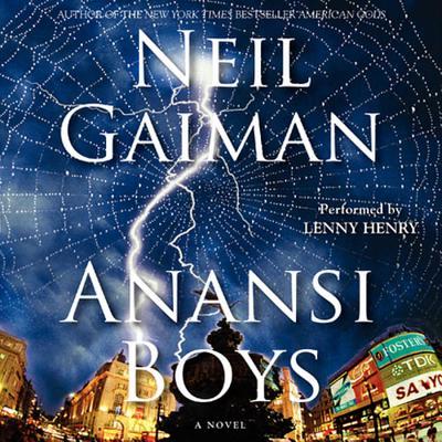 Anansi Boys Cover Image