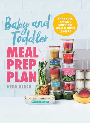 Cover for Baby and Toddler Meal Prep Plan