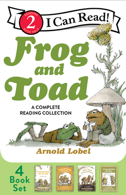 Frog and Toad: A Complete Reading Collection: Frog and Toad Are Friends, Frog and Toad Together, Days with Frog and Toad, Frog and Toad All Year (I Can Read Level 2) Cover Image