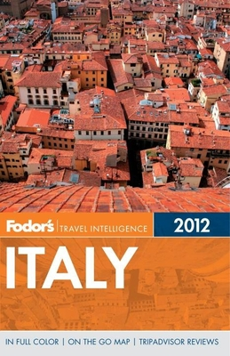 Fodor's Italy 2012 Cover
