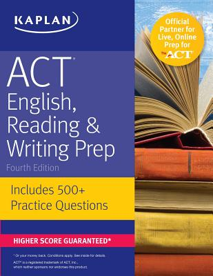 Cover for ACT English, Reading & Writing Prep