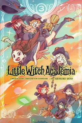 Little Witch Academia, Vol. 3 (manga) Cover Image